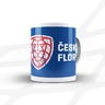 Mug Czech floorball logo - navy