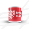 Mug Czech floorball logo - red