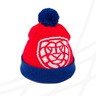 Kid´s hat with pom lion CF