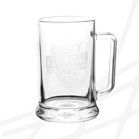 Beer mug engraved logo CF