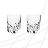 Set of shot glasses with logo Czech Floorball