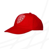 Kid´s cap Czech floorball logo - red
