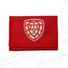 Cloth wallet Czech Floorball red