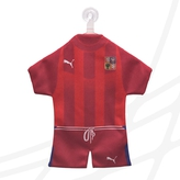 Mini jersey with logo CF red