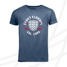 Men's t-shirt with round logo crossed sticks