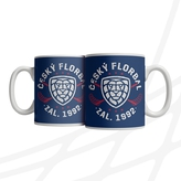 Mug rounded logo and crosses sticks