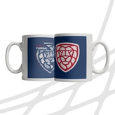 Mug distorted logo CF